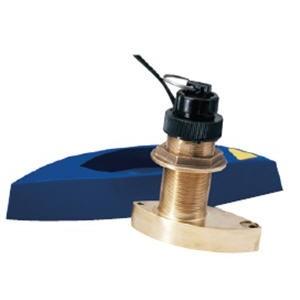 50/200 кГц - бронзовый сквозной датчик к эхолоту Lowrance серии HDS - B744V