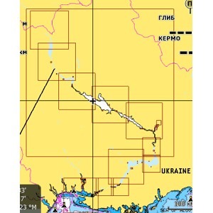 Карта Днепра NAVIONICS GOLD для Lowrance, Eagle, Humminbird