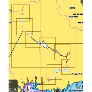 Карта Днепра NAVIONICS GOLD для Lowrance, Eagle, Humminbird