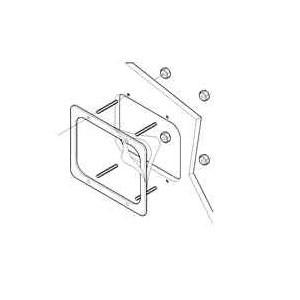 Комплект для установки в приборную панель для Raymarine A серии