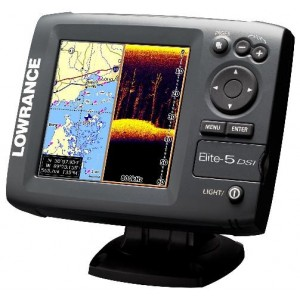 Эхолот Lowrance Elite 5 DSI (DownScan Imaging™)